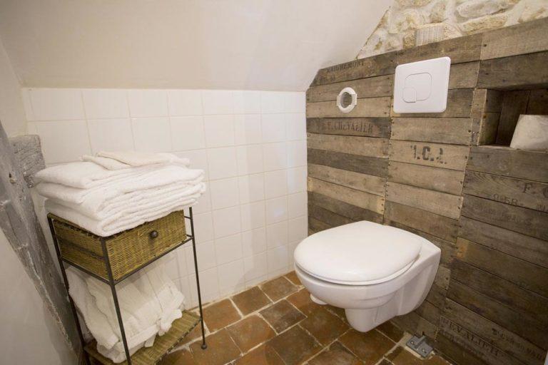 Chambre d'hôtes - Manoir de la Blonnerie - Toilettes olden